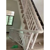 真亚楼梯扶手护栏围栏-水曲柳系列