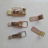镀金色手扣,不锈钢鸭嘴扣,铁镀铬鸭嘴扣。