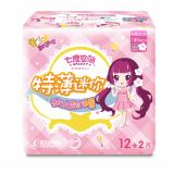 QSD8314少女系列特薄迷你巾180mm(棉棉表层)