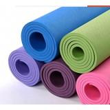 瑜伽垫无味TPE单色瑜伽垫防滑健身垫多功能运动垫