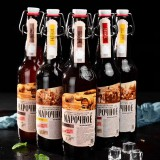 俄罗斯精酿啤酒,阿法纳西,口感香醇,外观大气,送礼必备