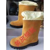黄皮棉靴(工矿专用鞋)