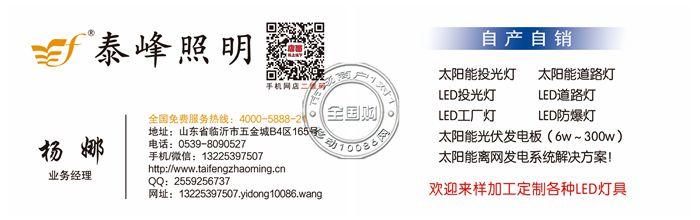 Linyi Taifeng lighting